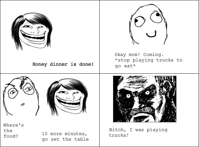 Honey dinner done rage comic troll face wtf world february 2012 full size is 640 473 pixels voltagebd Image collections